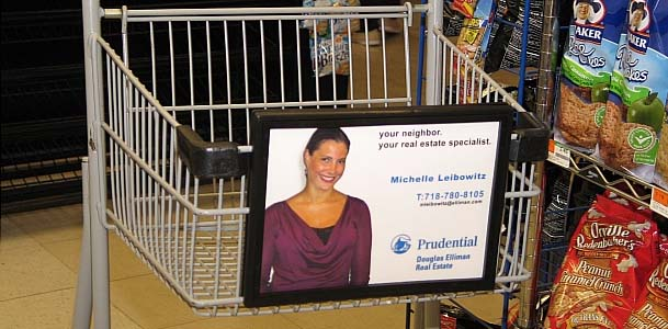 Prudential Shopping Cart Advertising